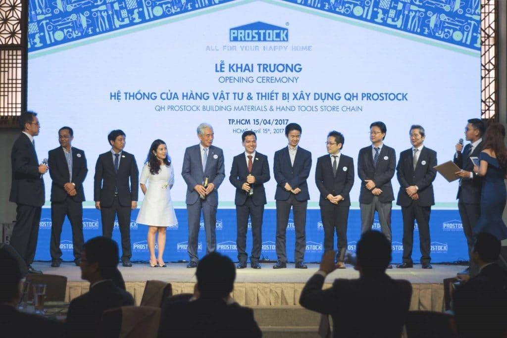 Khai trương cửa hàng Prostock Viêt Nam phân phối chính hãng các máy điện